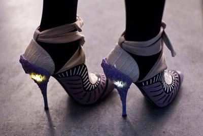 designer light up shoes