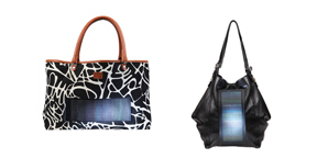 solar-powered bags