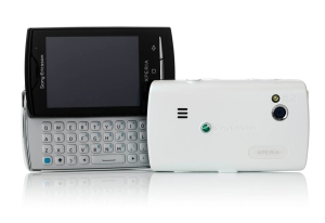 Sony Ericsson X10 Mini Pro in white